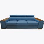 Sofa Loft 57 z półkami, barkiem i gniazdem elektrycznym