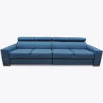 Sofa Loft 62 z półkami na plecach sofy i w bokach