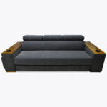 Sofa Loft 64 szara modułowa sofa rozkładana do spania