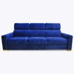 Sofa Loft 70 z funkcją spania na sprężynie falistej
