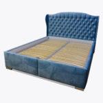 Łóżko sypialniane Uszatka z kryształkami Swarovskiego