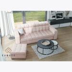 Sofa Loft 74 + pufa 60x60