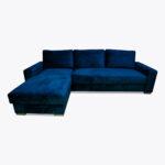 Narożnik Lupo 15 z dużą funkcją spania i poduszkami na rzep