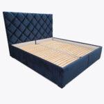 Łóżko sypialniane ZOYA z guziczkami tapicerowanymi 180x200