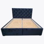 Łóżko sypialniane ZOYA z kryształkami 180x200