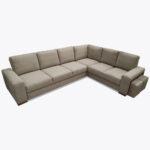 Narożnik Lupo 19 z poduszkami i dużą powierzchnią spania