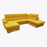 Narożnik Loft - dostępny od ręki żółty