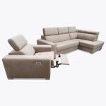 Zestaw narożnik + fotel relaks