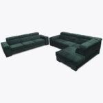 Zestaw narożnik + sofa