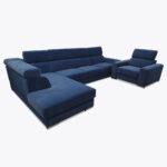 Zestaw duży narożnik + fotel