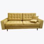 Sofa Mona 6 w zestawie z pufą