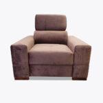Fotel Loft 8, pikowany z kontrastową nicią