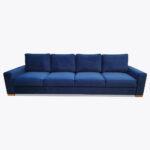 Sofa Lupo z poduszkami, pojemnikiem i funkcją spania + pufa