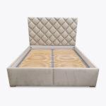 Łóżko sypialniane ZOYA z guziczkami tapicerowanymi 160x200